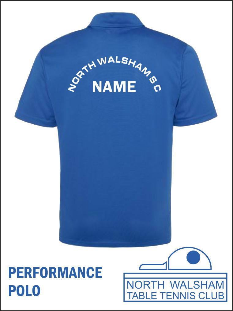 Performance Polo Back
