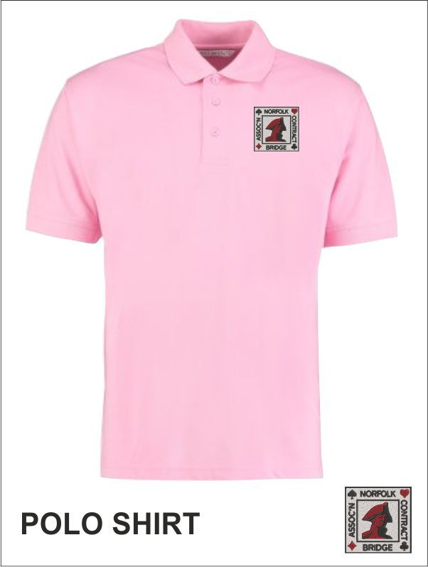 Mens Polo Pink