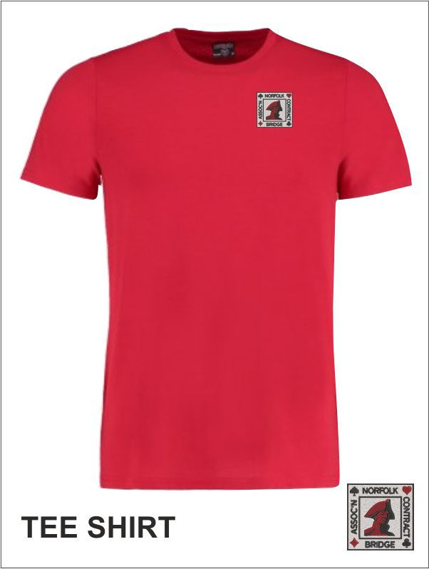Mens T Shirt Red