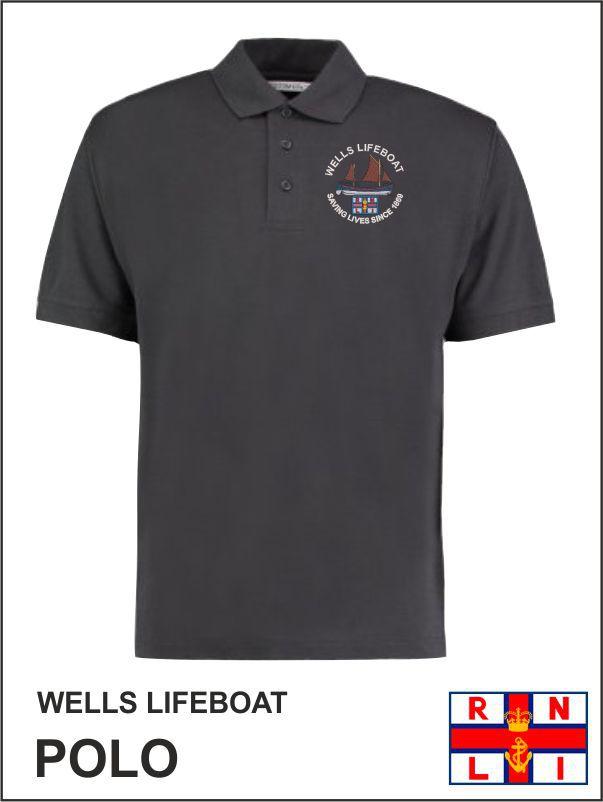 Wells Life Boat Graphite Polo