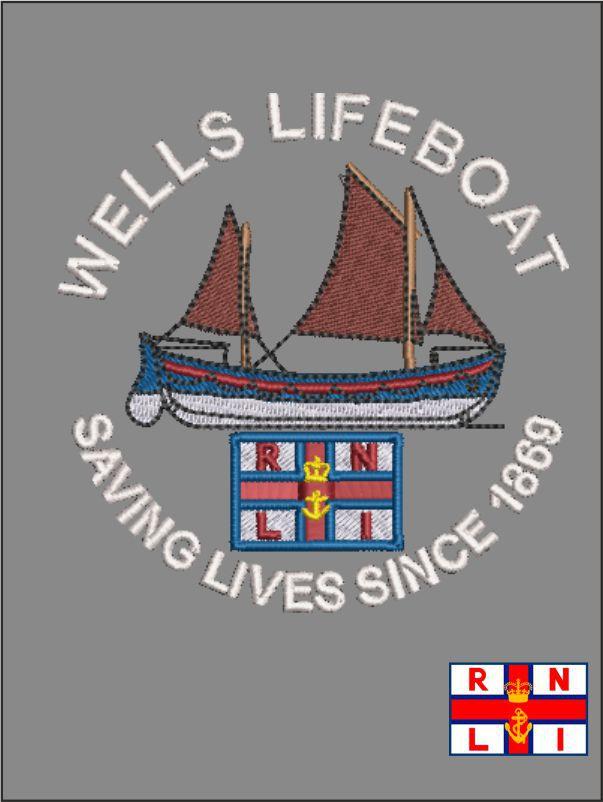 Wells Life Boat Logo