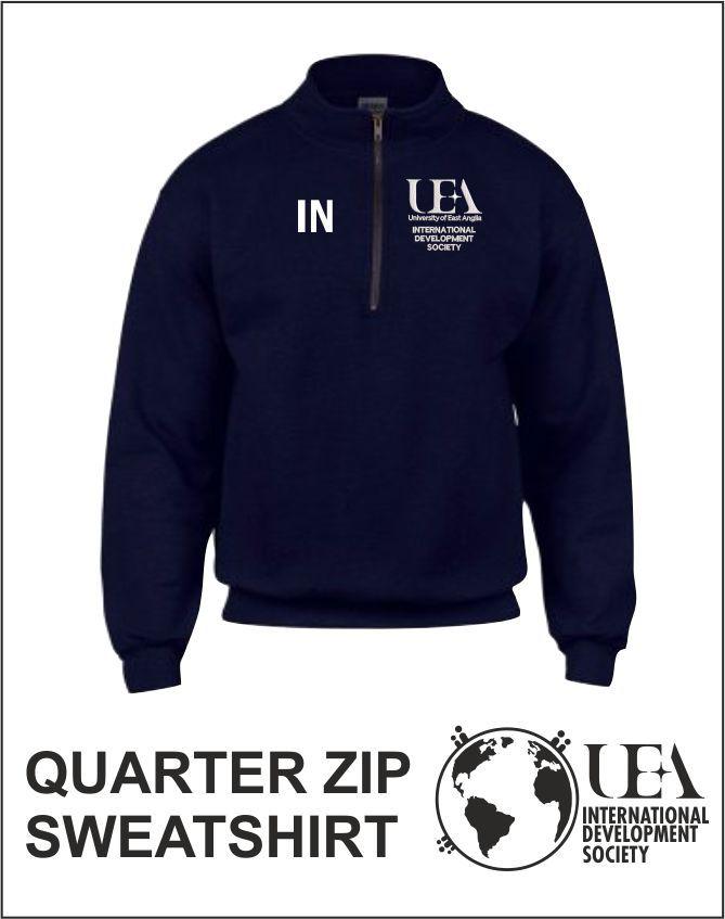 Quater Zip Sweatshirt Navy
