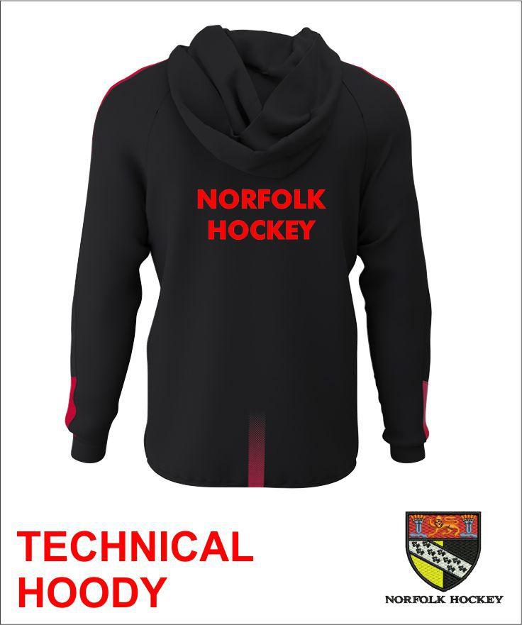 Technical Hoody Back