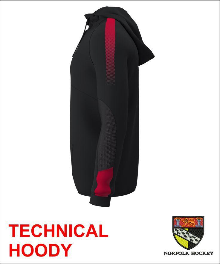 Technical Hoody Side