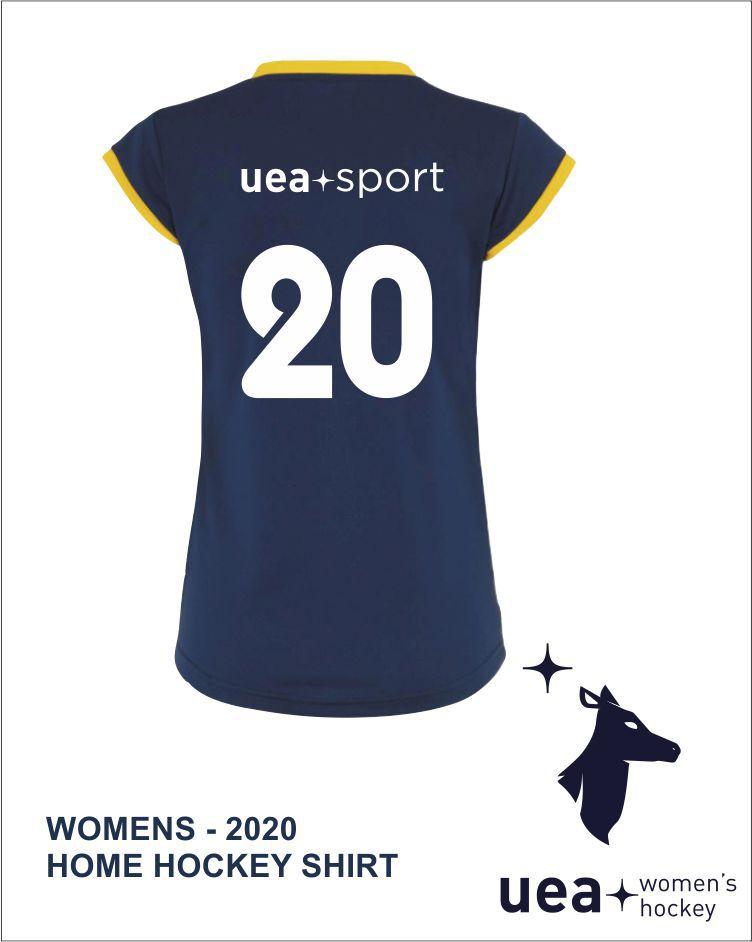 Womens Jen Home Hockey Shirt Back