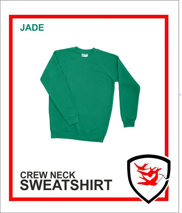 Crew Neck Jade