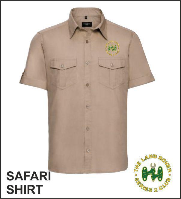 Safari Shirt Khaki
