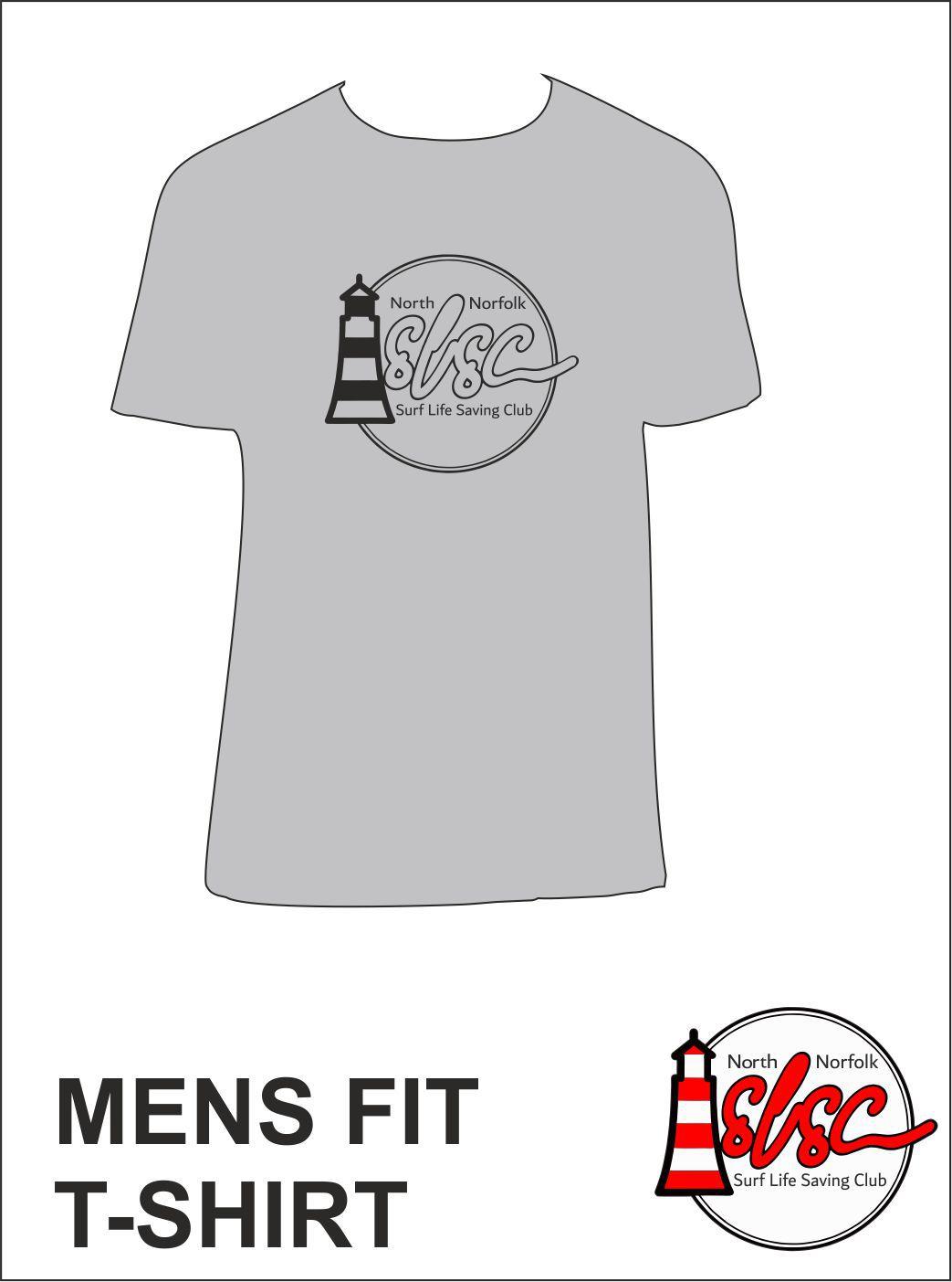 Mens T Shirt Grey