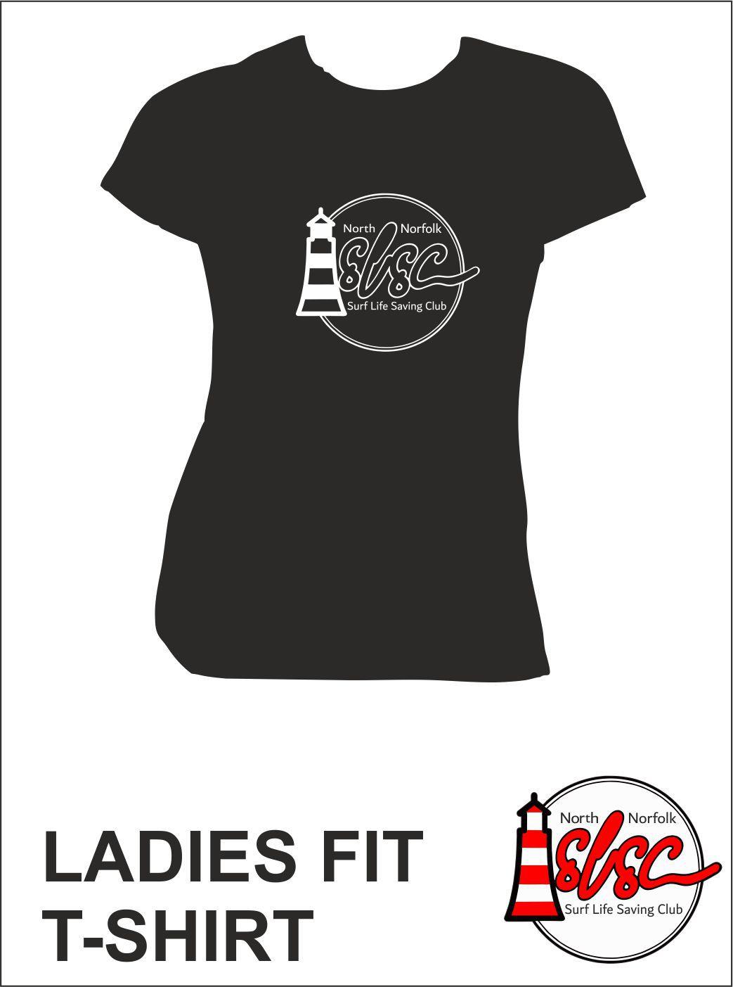 Ladies T Shirt Navy