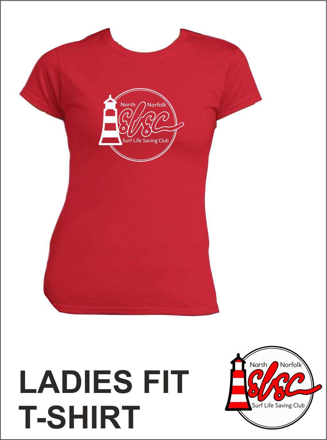Ladies T Shirt Red