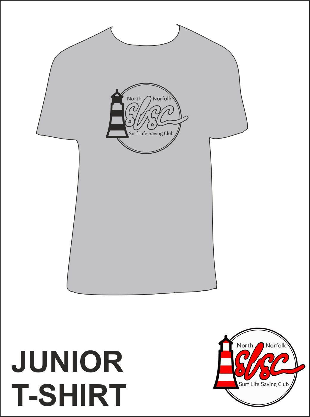 Junior T Shirt Grey