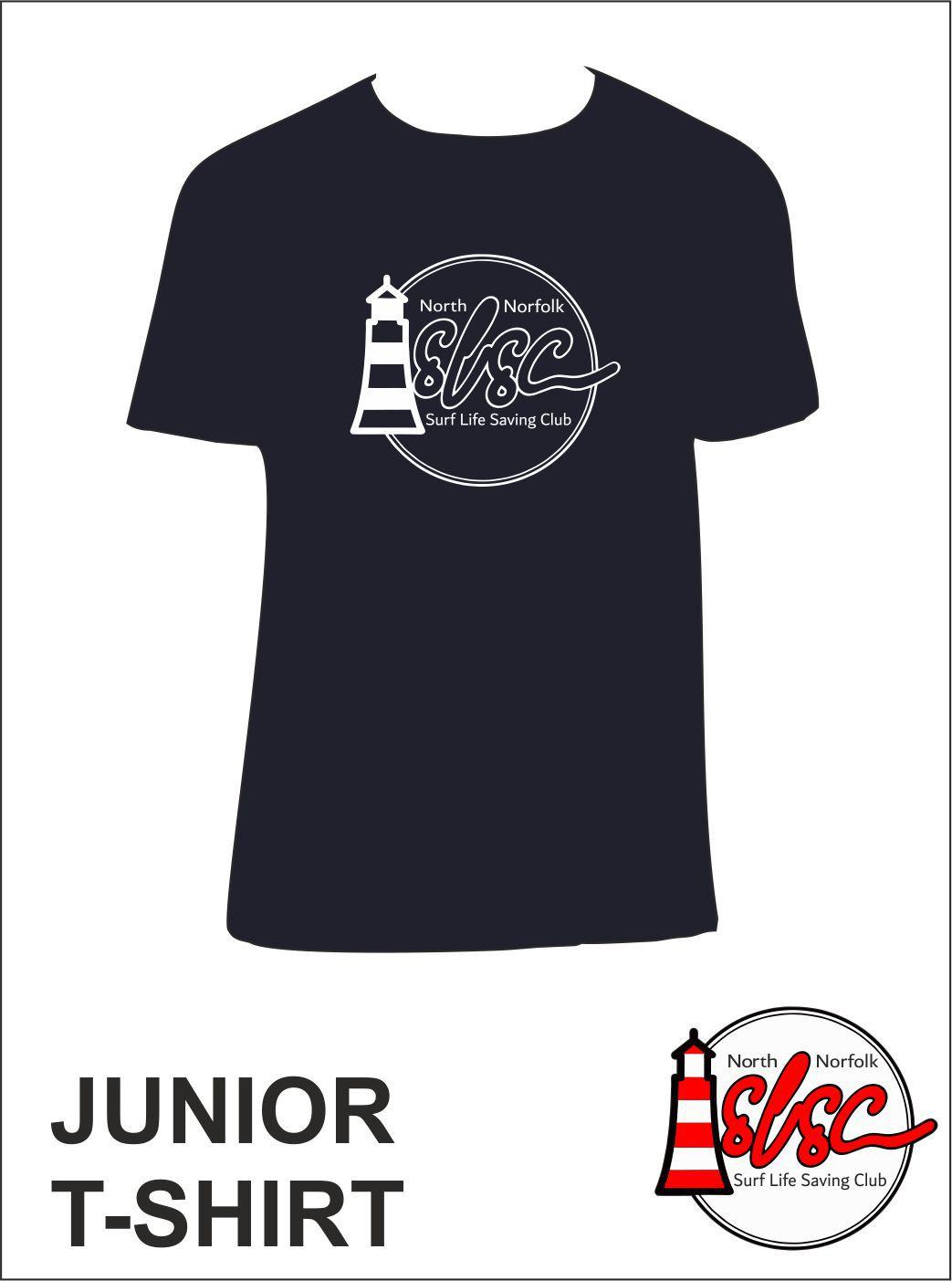Junior T Shirt Navy