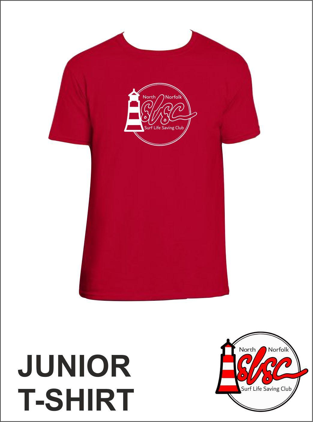 Junior T Shirt Red