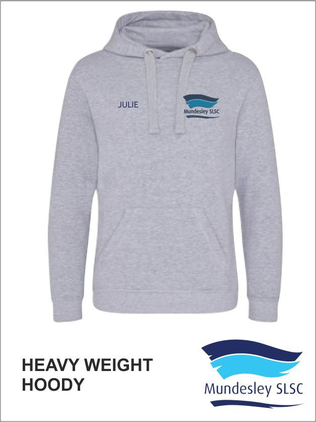 Heavy Weight Hoody Front