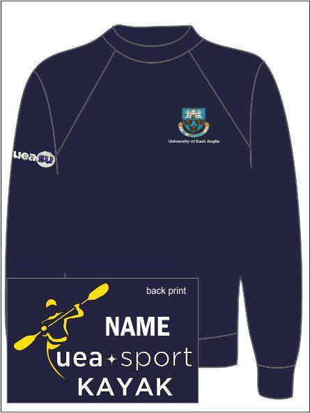 Uea Kayak Sweat Shirt