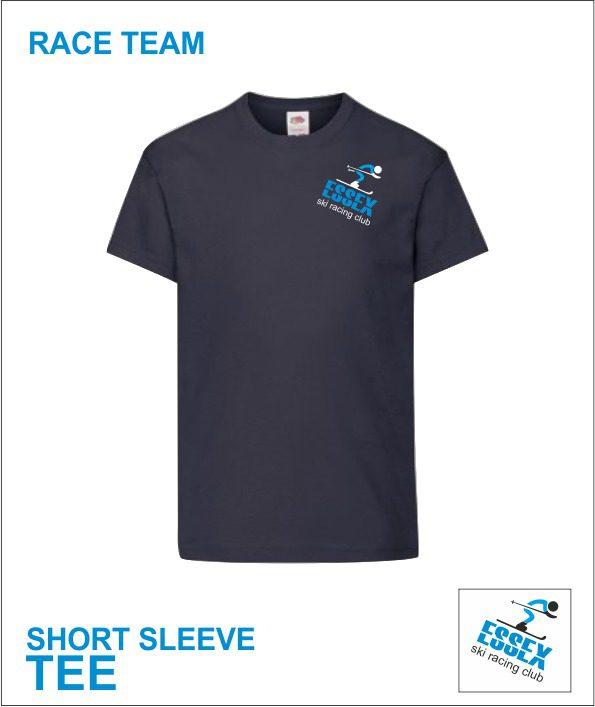 Short Sleeve Tee (essex Ski Race Team) Racer