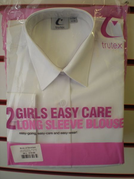 Twin Pack Long-sleeved Easy Care Blouses