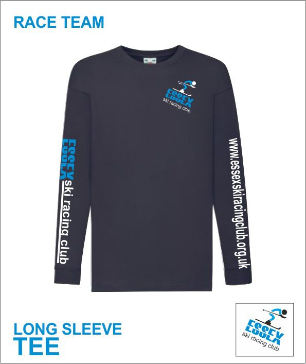 Long Sleeve Tee (essex Ski Race Team) Racer