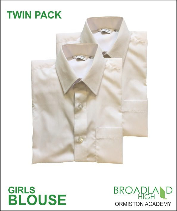 Girls Blouse Twin Pack