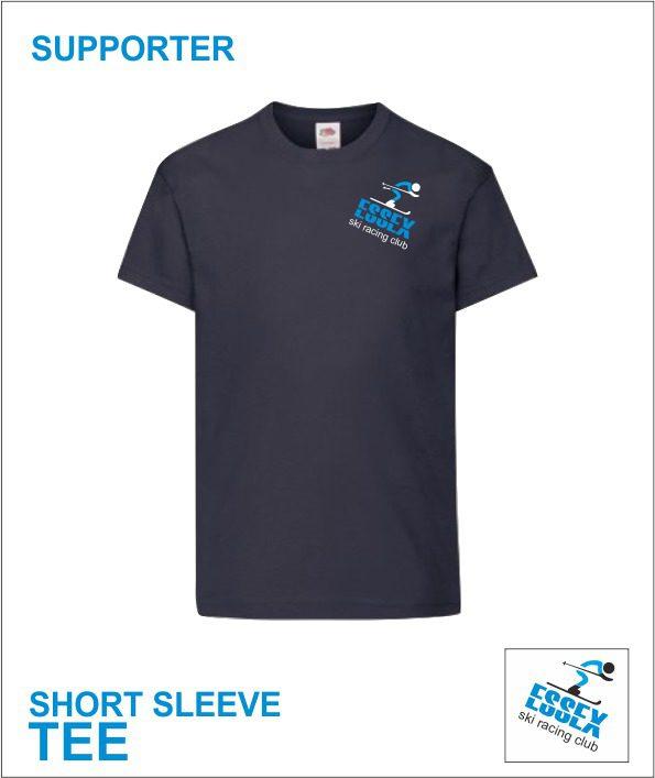 Short Sleeve Tee (essex Ski Race Team) Supporter