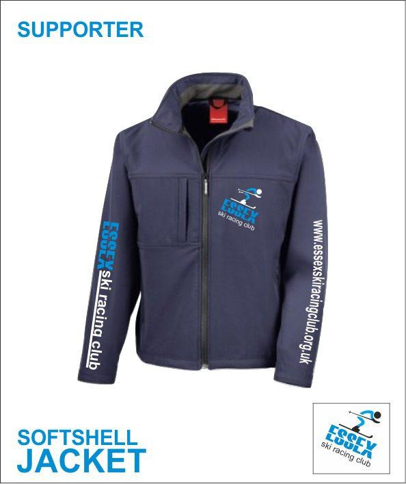 Softshell Jacket (essex Ski Race Club) Supporter
