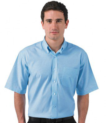 Shirt Short Sleeves Light Blue