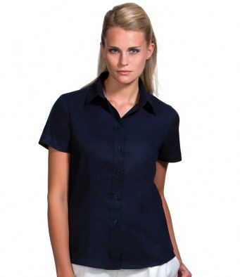 Shirt Ladies Short Sleeve Light Black