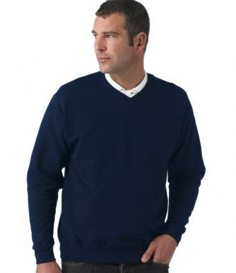 Sweat Shirt V Neck Navy
