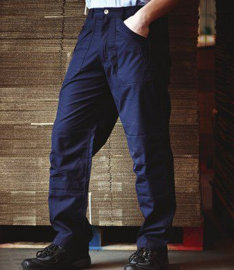 Rg227 Zip Service Engineer Trouser Navy