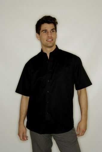 Shirt Short Sleeves Black