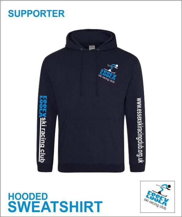 Hooded Sweatshirt (essex Ski Race Team) Supporter