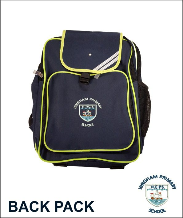 Junior Backpack(hingham Primary)