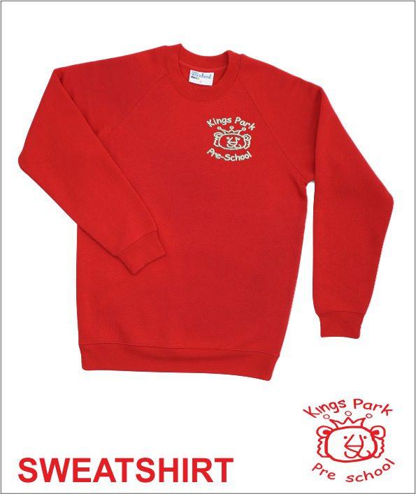 Sweatshirt (kings Park Pre School