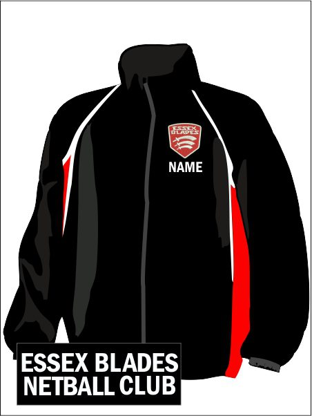 Panel Wp Jacket (essex Blades) Netball Club