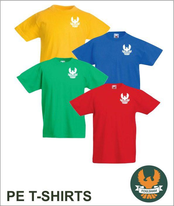 Sports T-shirt House Colours