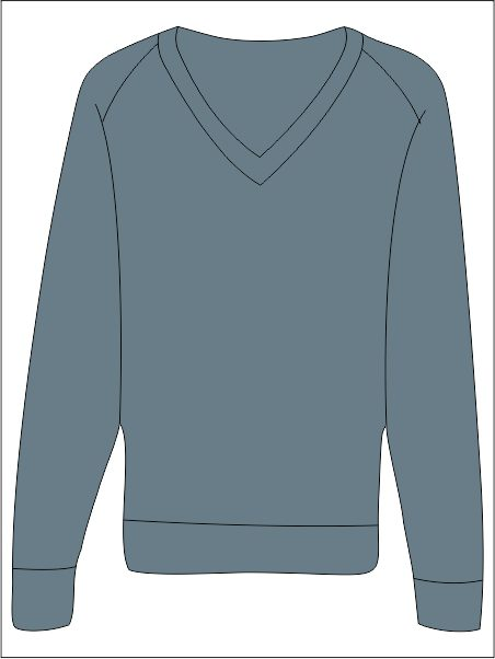 Jumper V-neck