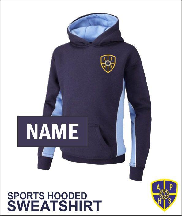 Sports Hooded Sweatshirt