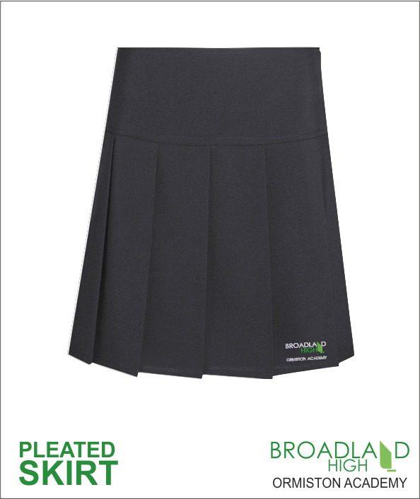 Girls Pleated Skirt