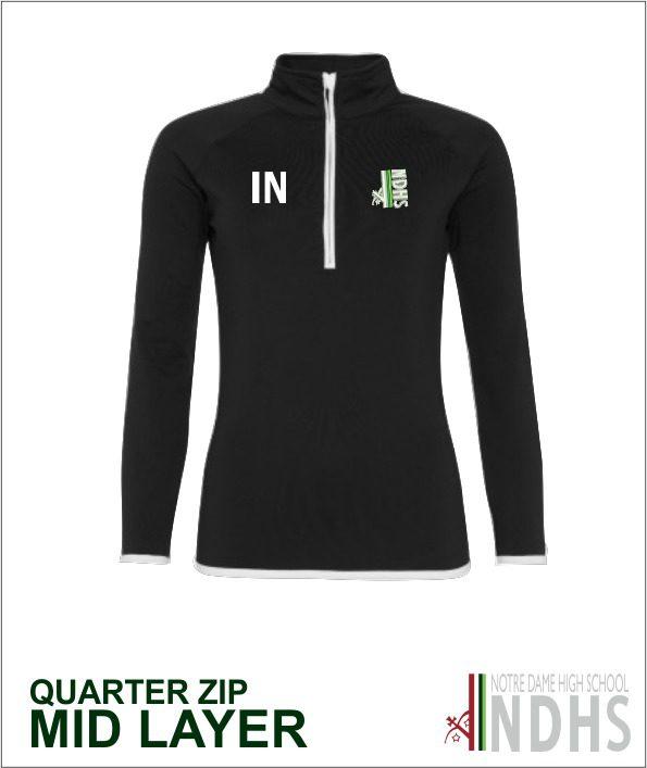 Q Zip Mid Layer Top