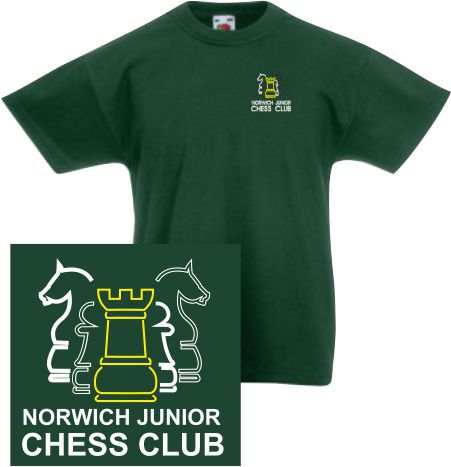 Tee Shirt (norwich Junior Chess Club
