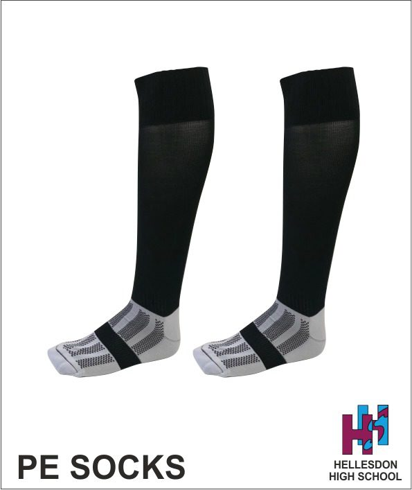 Hellesdon High PE socks