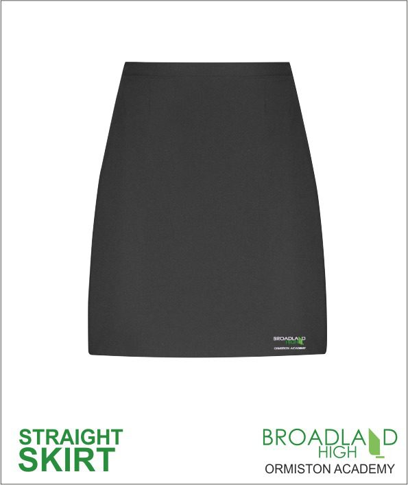 Broadland High School Straight Skirt