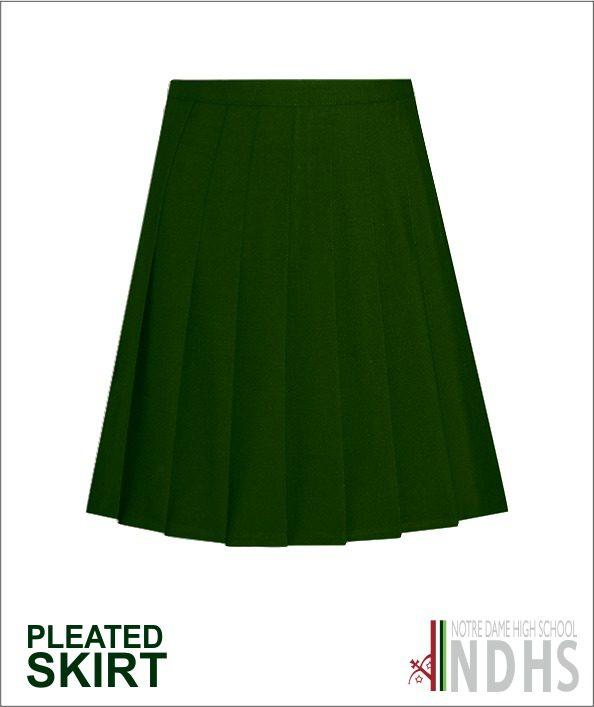 Notre Dame High School Pleat Skirt