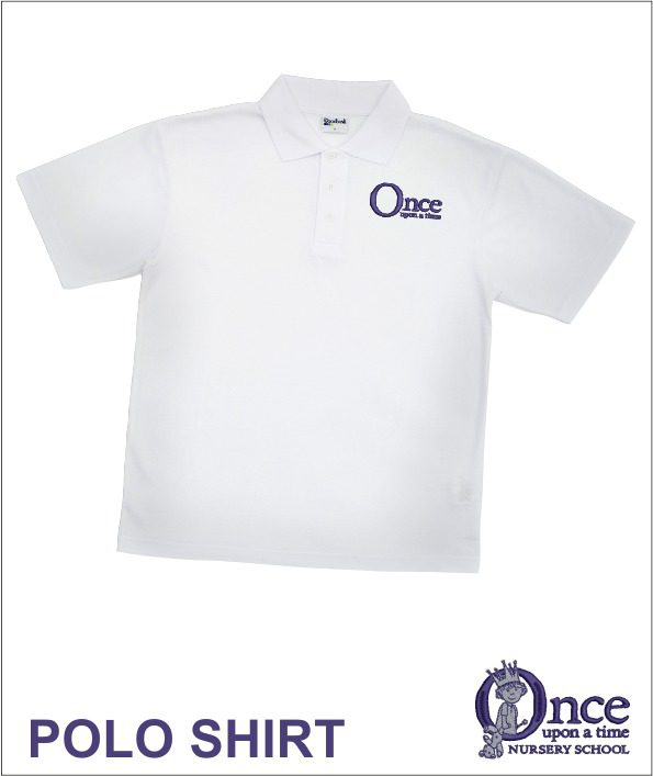 Once Upon A Time White Polo
