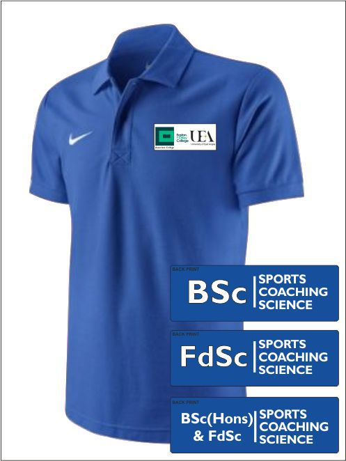 Easton College He Sports Coaching Science Polo