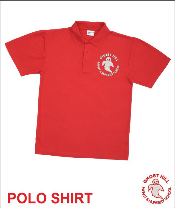 Ghost Hill Red Polo
