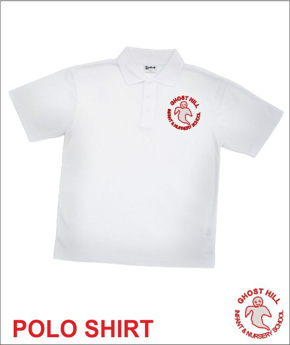 Ghost Hill White Polo