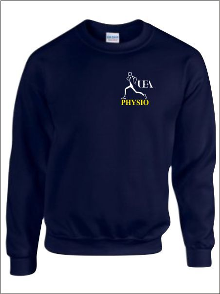 Uea Physio Society Sweatahirt No Back Print