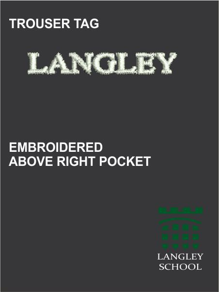 Langley Uniform Trouser Tag