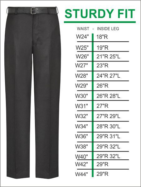 Sturdy Fit Trousers